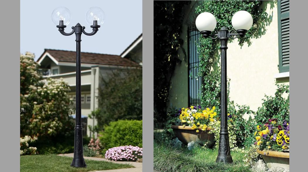 Fumagalli Lampadaire de jardin Réverbères lampadaires Luminaires Extérieur  |