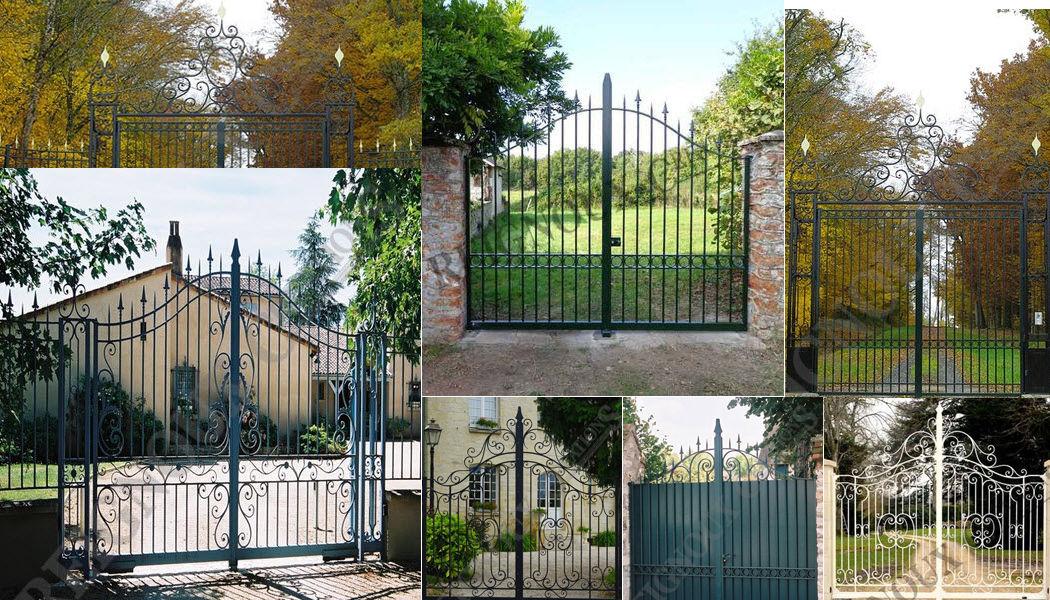 Reignoux Creations Portail à vantaux Portails Jardin Abris Portails...   
