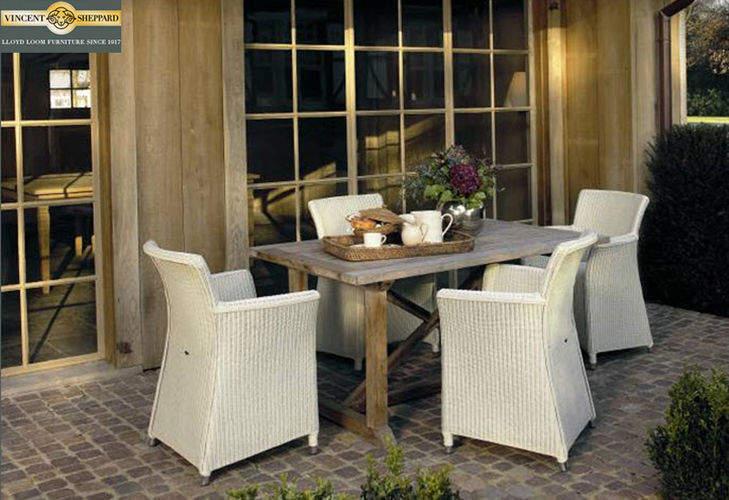 Vincent Sheppard Salle à manger de jardin Tables de jardin Jardin Mobilier Terrasse | Charme