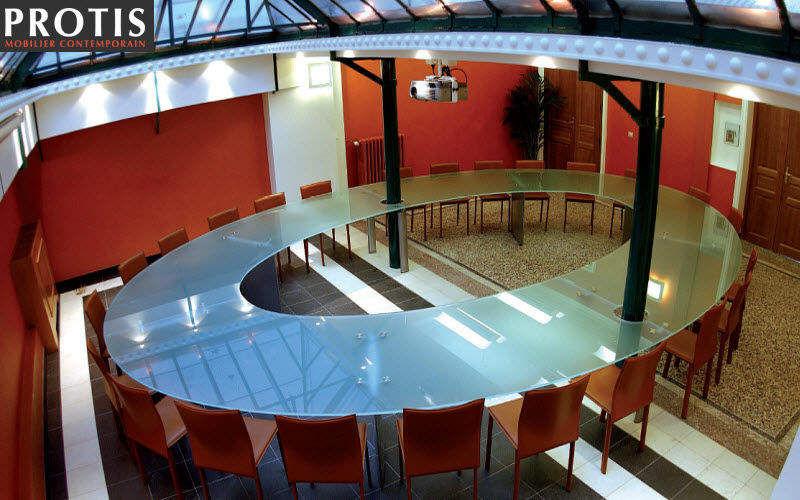 Protis Table de réunion Bureaux et Tables Bureau Lieu de travail | Design Contemporain