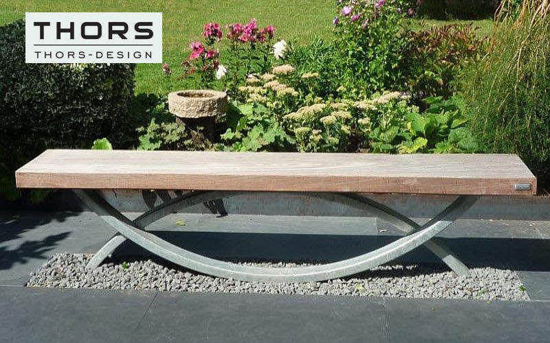 Thors-Design Banc urbain Bancs de jardin Jardin Mobilier Espace urbain |