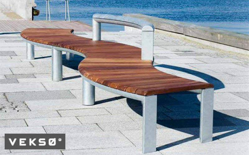 Veksø Banc urbain Bancs de jardin Jardin Mobilier  |