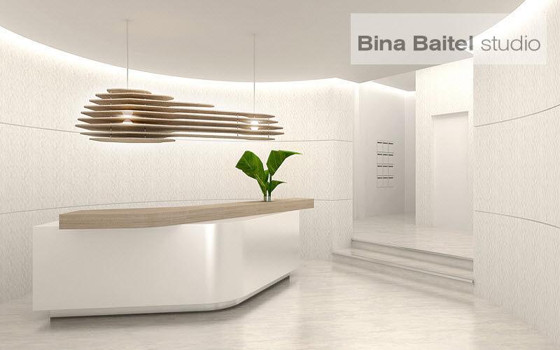 BINA BAITEL Studio Banque d'accueil Bureaux et Tables Bureau Lieu de travail | Contemporain