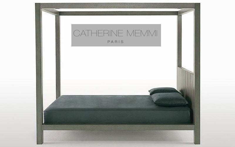 Catherine Memmi Lit double à baldaquin Lits doubles Lit  |
