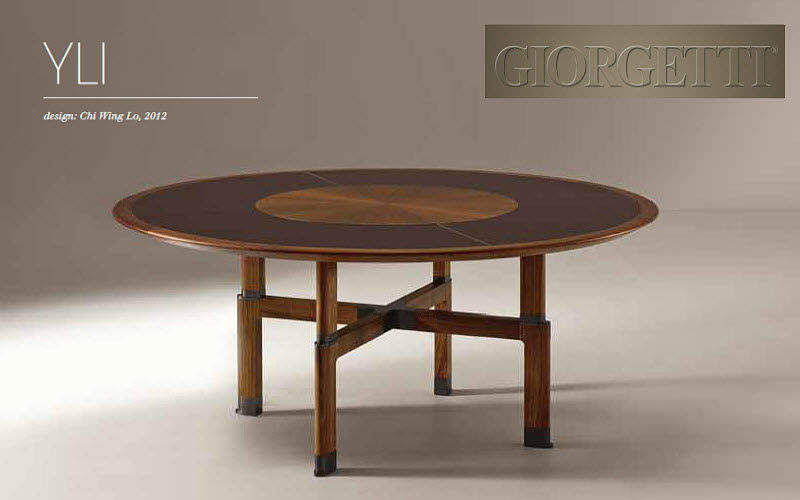 Giorgetti Table de repas ronde Tables de repas Tables & divers  |
