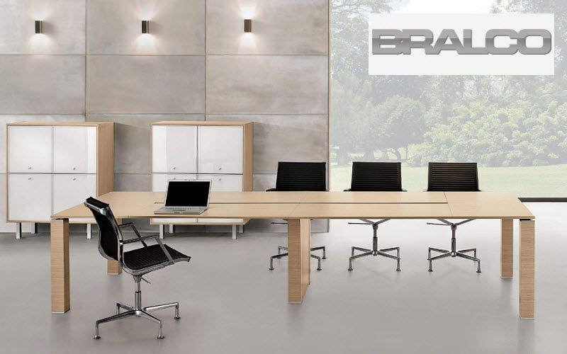 BRALCO Table de réunion Bureaux et Tables Bureau Lieu de travail | Design Contemporain