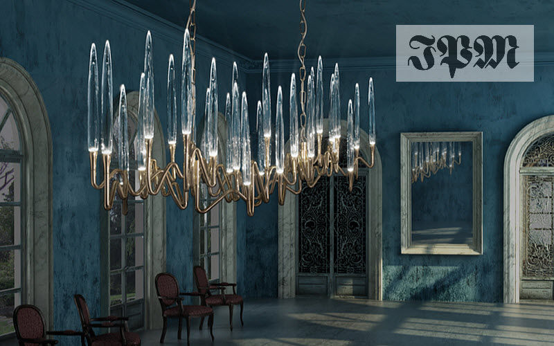 IL PEZZO MANCANTE Lustre Lustres & Suspensions Luminaires Intérieur Salle à manger   Contemporain