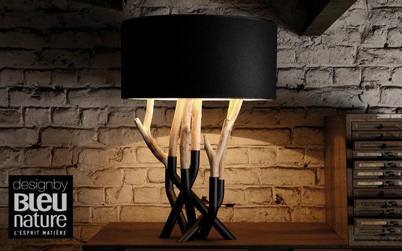 Bleu Nature Lampe à poser Lampes Luminaires Intérieur Chambre | Charme