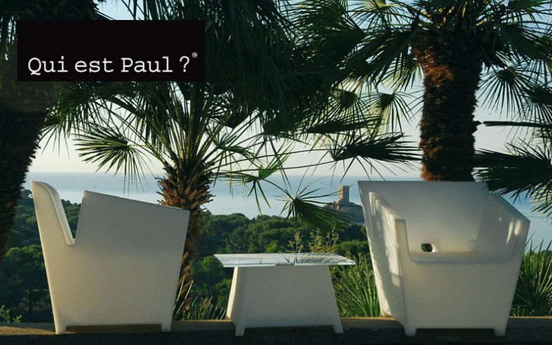 QUI EST PAUL ? Fauteuil de jardin Fauteuils d'extérieur Jardin Mobilier  |