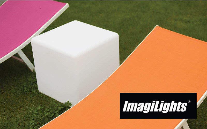 IMAGILIGHTS Tabouret de jardin Divers mobilier de jardin Jardin Mobilier  |