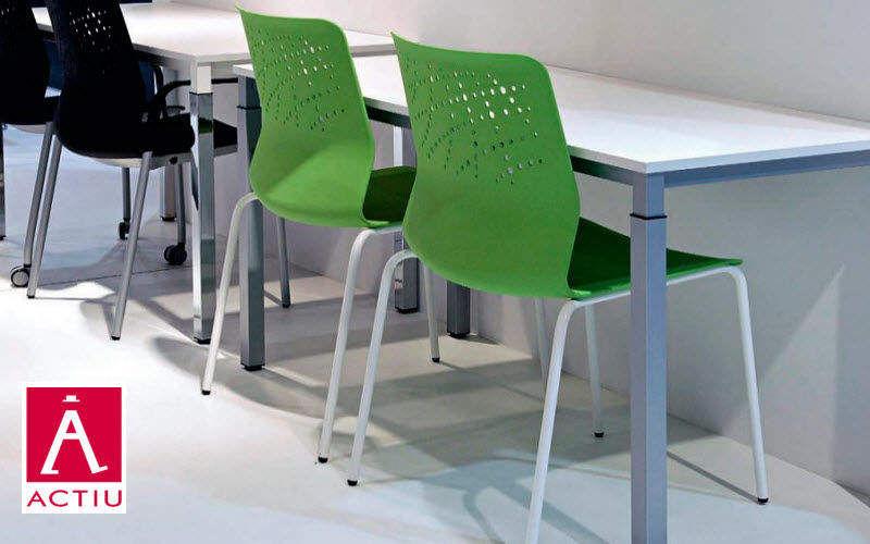 Actiu Chaise empilable Chaises Sièges & Canapés Bureau | Design Contemporain