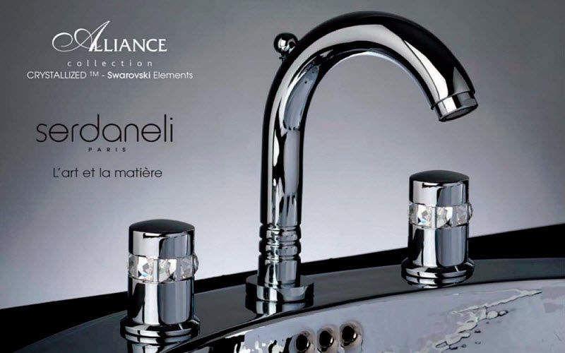 Serdaneli International Mélangeur lavabo 3 trous Robinetterie Bain Sanitaires  |