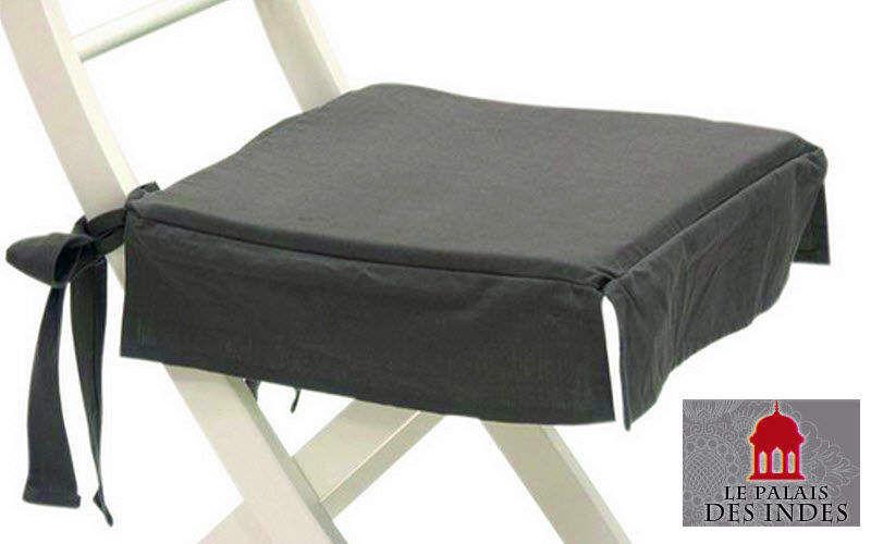 Galette de chaise coussins oreillers decofinder - Galette de chaise volantee ...