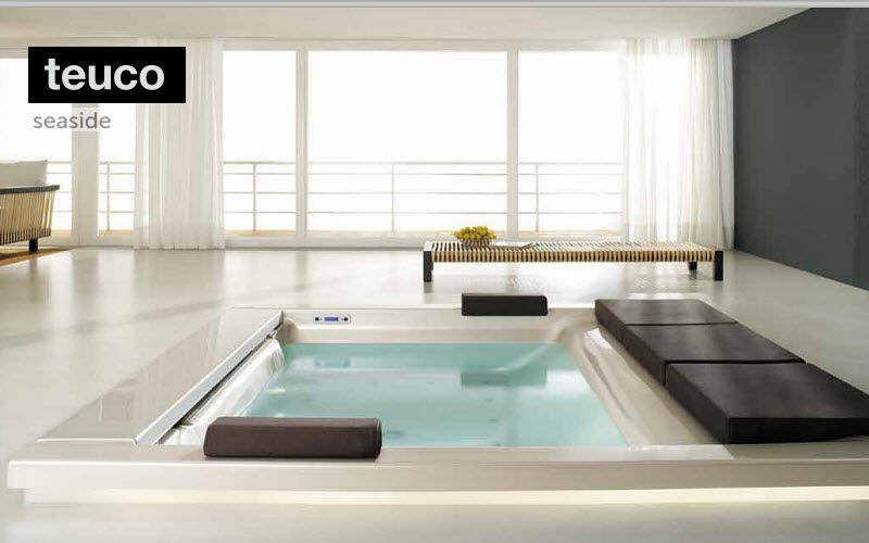 Baignoire encastrer baignoires decofinder - Salle de bain avec baignoire sur pied ...