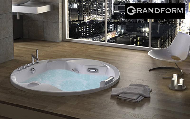 Grandform Baignoire balnéo Baignoires Bain Sanitaires Salle de bains | Design Contemporain