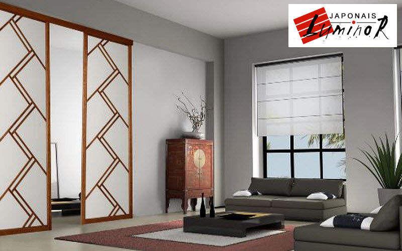 Claustra Luminor Panneau japonais Rideaux Tissus Rideaux Passementerie  |