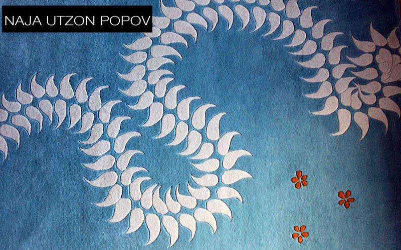 NAJA UTZON POPOV Tapis contemporain Tapis modernes Tapis Tapisserie  |