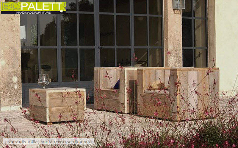 BOPALETT Salon de jardin Salons complets Jardin Mobilier Terrasse | Décalé