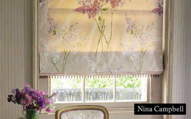Nina Campbell Store bateau Stores Tissus Rideaux Passementerie  |