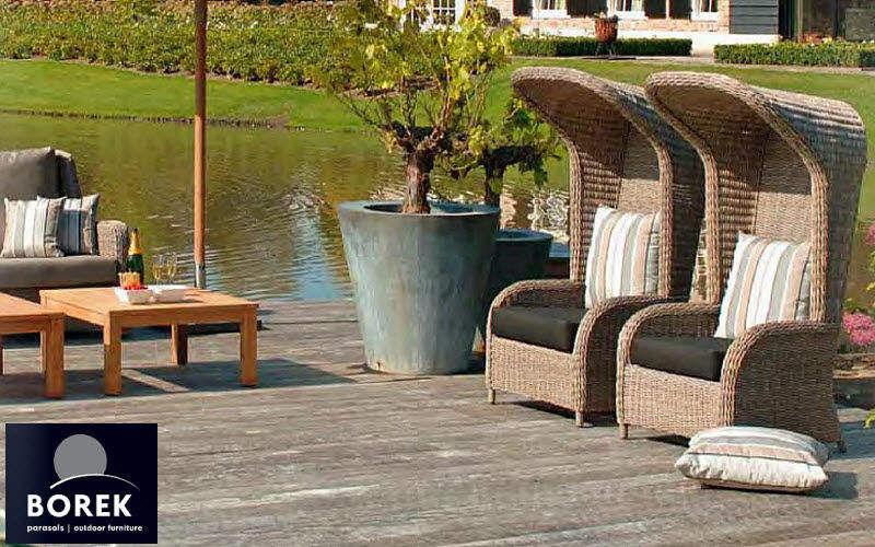 Borek Fauteuil de jardin Fauteuils d'extérieur Jardin Mobilier  |
