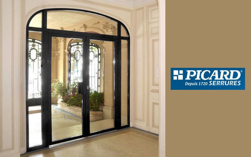 Picard Serrures Porte de hall d'entrée d'immeuble Portes Portes et Fenêtres  |