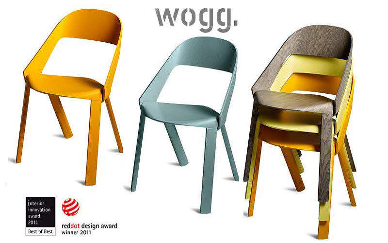 Wogg Chaise Empilable Chaises Siges Canaps