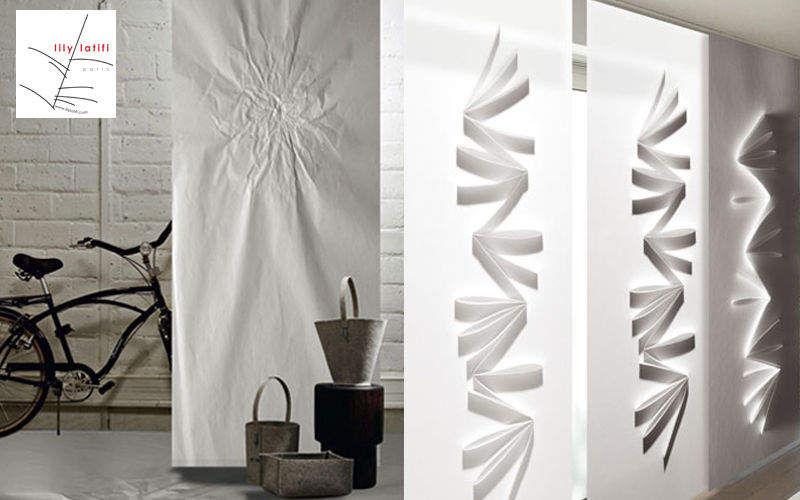 Lily Latifi Cloison japonaise Rideaux Tissus Rideaux Passementerie  |