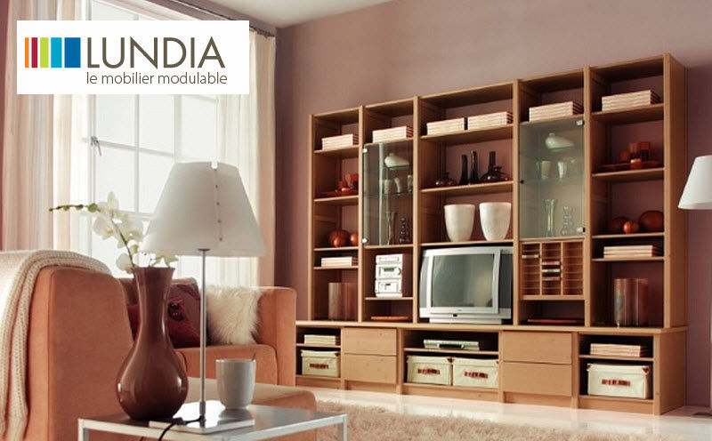 Lundia Meuble tv hi fi Meubles TV HIFI Rangements  |