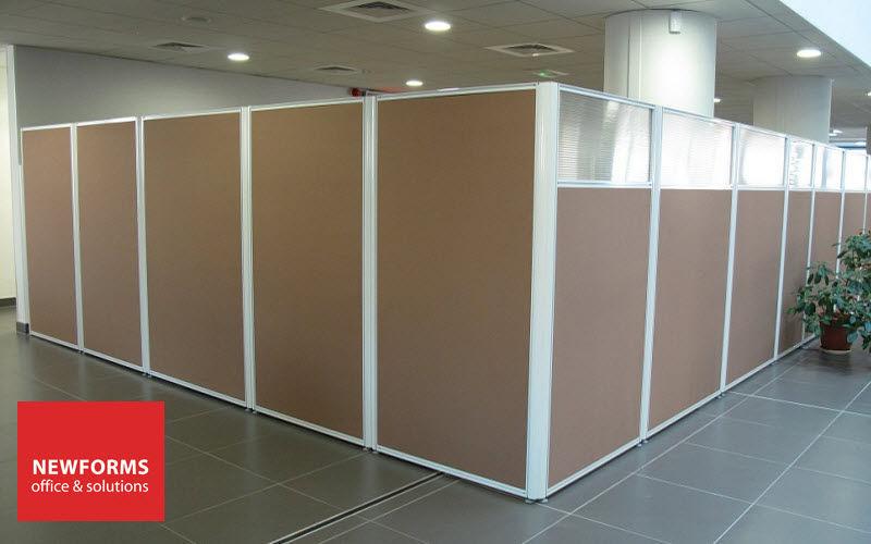 NEWFORMS Cloison de bureau Cloisons & Panneaux acoustiques Murs & Plafonds  |
