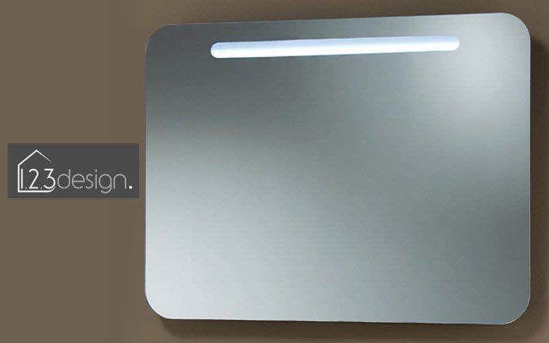 123 design Miroir lumineux Miroirs de salle de bains Bain Sanitaires  |