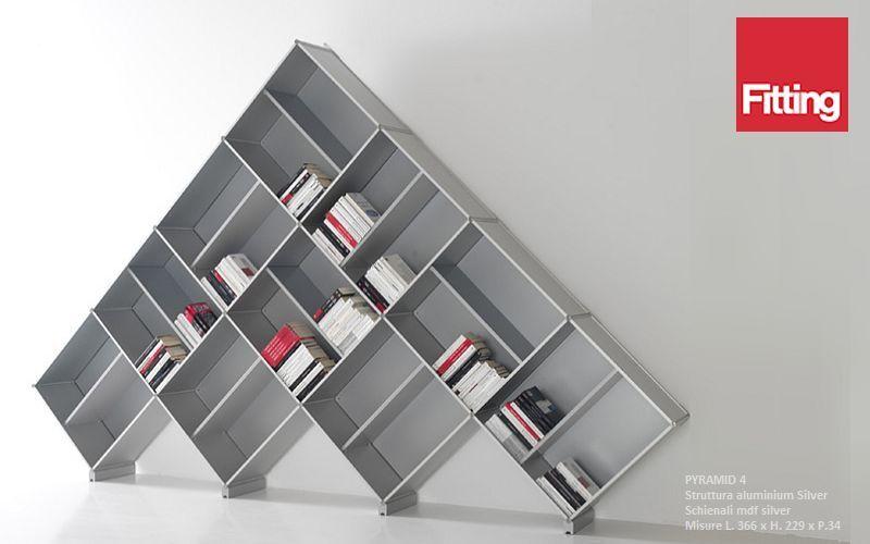 FITTING Bibliothèque ouverte Bibliothèques Rangements  | Décalé