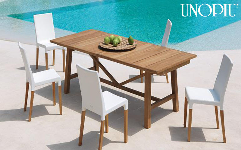 Unopiù Table de jardin Tables de jardin Jardin Mobilier  |