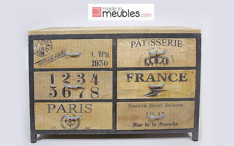 MADE IN MEUBLES Commode Meubles à tiroirs Rangements  | Design Contemporain