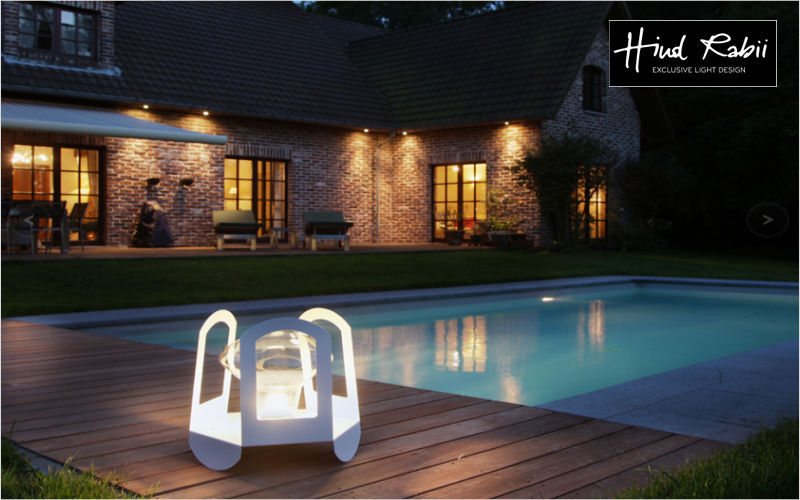 HIND RABII Lampe de jardin Luminaires de sol Luminaires Extérieur Jardin-Piscine |