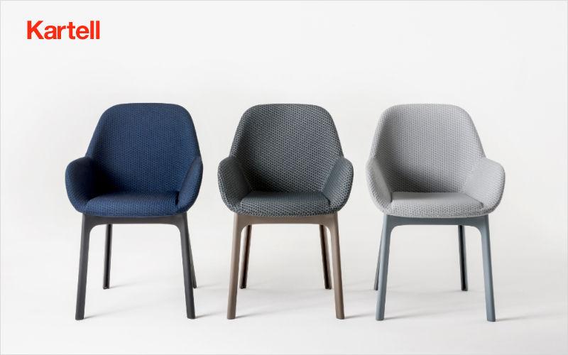 Kartell Fauteuil Fauteuils Sièges & Canapés Salle à manger | Design Contemporain