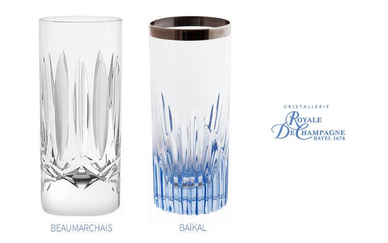 Cristallerie Royale De Champagne Verre à vodka Verres Verrerie  |