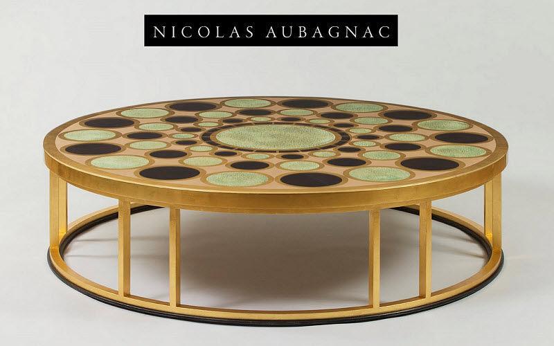 Nicolas Aubagnac Table basse ronde Tables basses Tables & divers  |