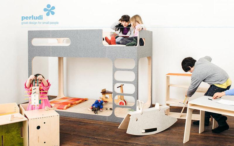 PERLUDI Lit mezzanine enfant Chambres Enfant Enfant  |
