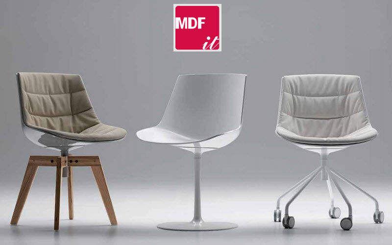 MDF Italia Chaise rotative Chaises Sièges & Canapés   