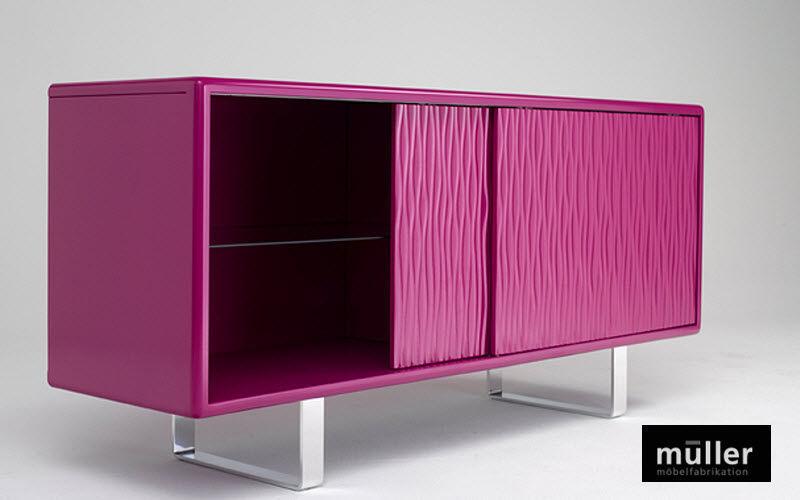 müller Buffet à glissant Bahuts Buffets Meubles de salon Rangements  | Design