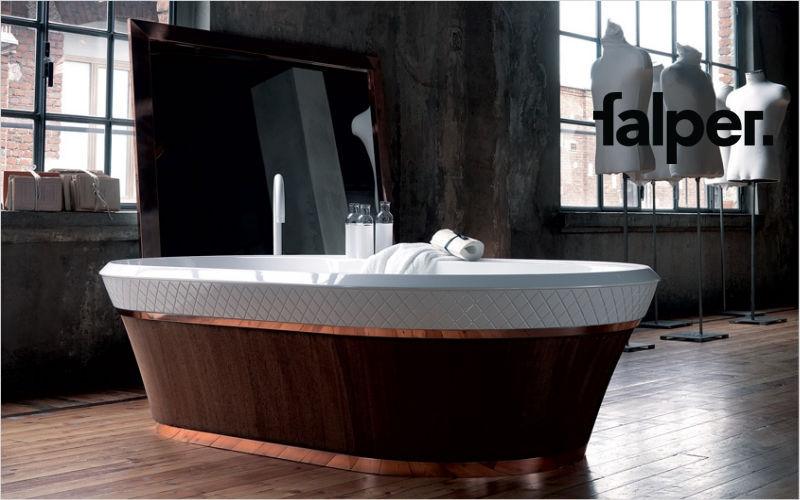 FALPER Baignoire à poser Baignoires Bain Sanitaires  |
