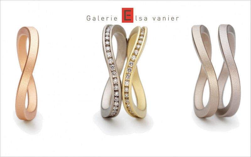 Galerie ELSA VANIER Bague Bijouterie En marge de la Déco  |