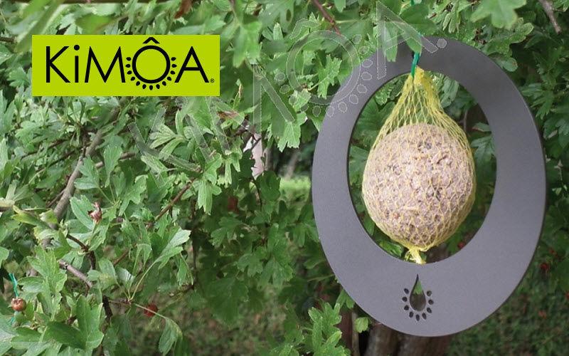 KIMÔA Mangeoire à oiseaux Ornements de jardin Extérieur Divers  |