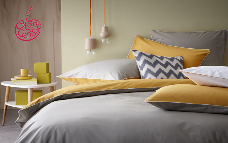 BLANC CERISE Parure de lit Parures de lit Linge de Maison   