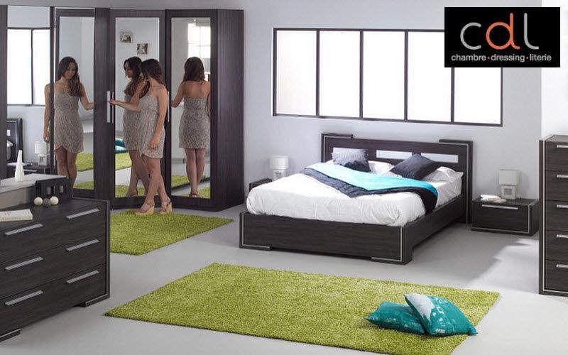 CDL Chambre-dressing-literie.com Chambre Chambres à coucher Lit  |