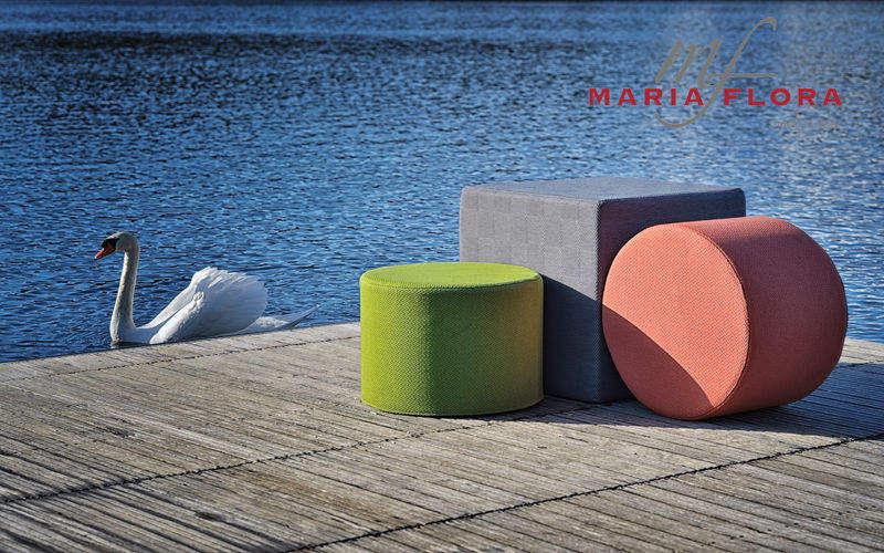 MARIAFLORA Pouf d'extérieur Divers mobilier de jardin Jardin Mobilier  |