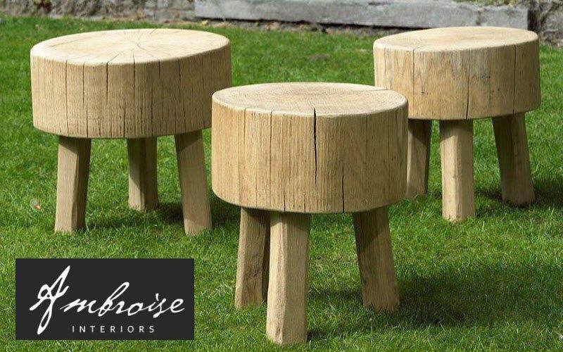 AMBROISE INTERIORS Tabouret de jardin Divers mobilier de jardin Jardin Mobilier  |