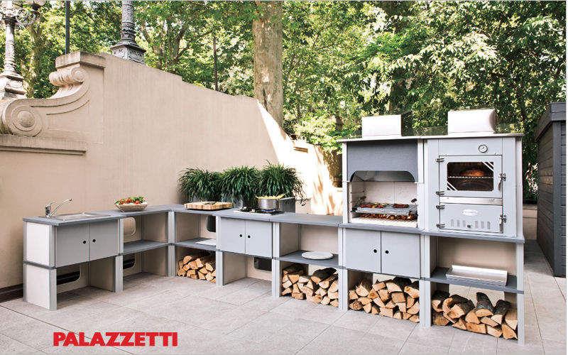 Palazzetti Cuisine d'extérieur Cuisines complètes Cuisine Equipement Terrasse | Design Contemporain