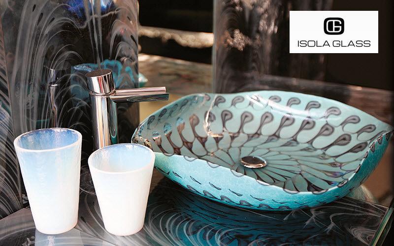 Isola Glass Vasque à poser Vasques et lavabos Bain Sanitaires  |