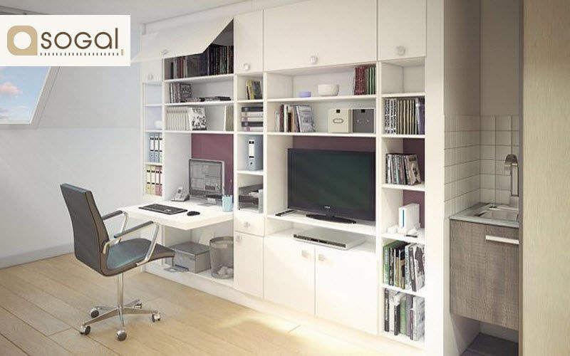 Sogal Meuble de salon-Living Bahuts Buffets Meubles de salon Rangements Bureau | Design Contemporain